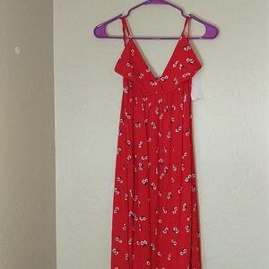 d3162c7a243 Billabong Dresses - Billabong Flame Out Maxi Dress